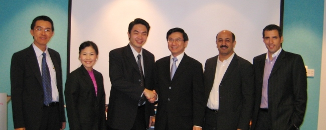 SGP's signed agreement to the purchase ordinary share of Chevron China Ltd.